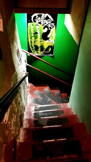 Green room Concert Photography Green Color Band Photography Theatre & Music  Concert Hall  Architectural Feature Popular Music Concert Backstage Theatre & Music  Green Room Stairs Down