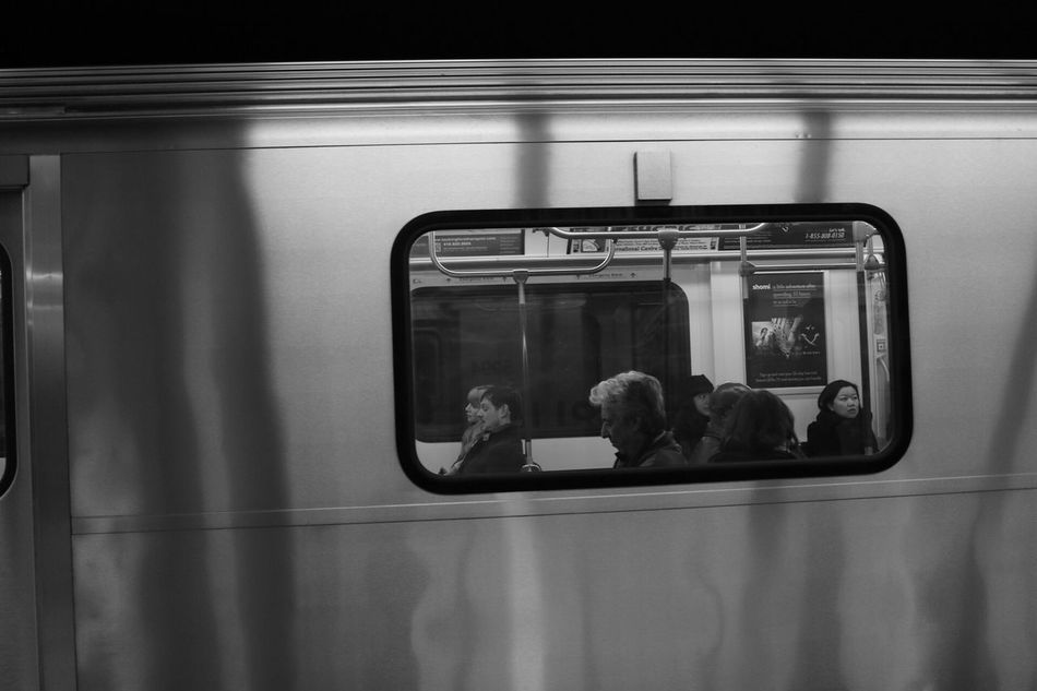 Transportation Peopleinframe People In Transit Streetphotography Toronto Torontophotographer TorontoLife Peoplescreatives Blackandwhite Subway People People Photography Canonphotography Candid Moodygrams Streetphoto_bw