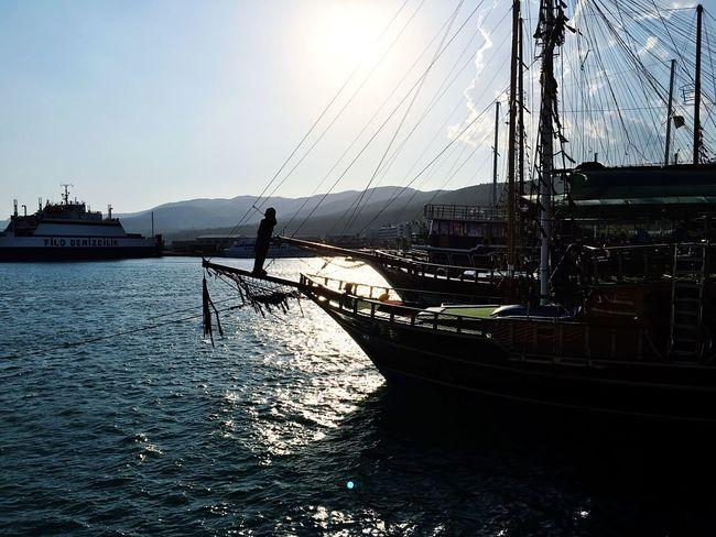Turkey Photooftheday Sea And Sky Yacht Mersin Tasucu