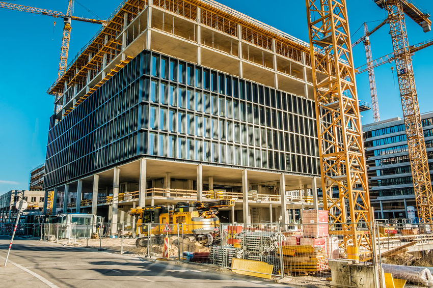 Architecture Building - Activity Building Exterior Built Structure Construction Site Construction Site Day Half Ready Modern No People Occupation Outdoors