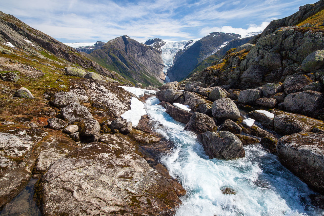 Norway Glacier River Protecting Where We Play The Traveler - 2015 EyeEm Awards The Adventurer - 2015 EyeEm Awards The Great Outdoors - 2015 EyeEm Awards EyeEm Nature Lover Edge Of The World Learn & Shoot: Leading Lines How Do You See Climate Change? Landscapes With WhiteWall Ice Age