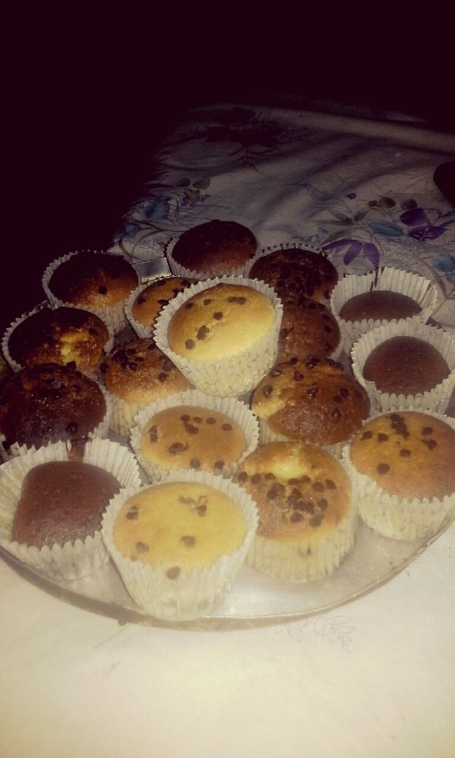 Ñam >.< Masitas Golosos Magdalena Muffins Chocolate Vainilla Delicious Dulces Cordobacapital Argentina