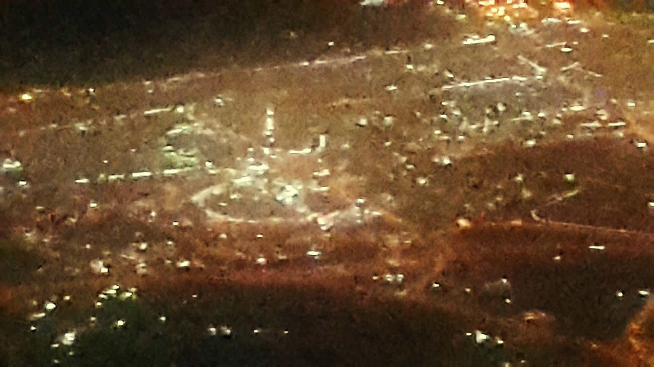 Burj Khalifa From An Airplane Window 38000 Feet Up In The Air Qatar Airways QR844 Business Class Doha International Airport (doh) مطار الدوحة الدولي to Kuala Lumpur International Airport Mydubai