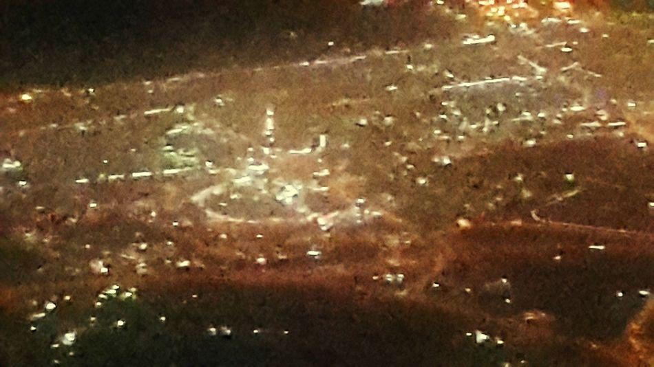 Burj Khalifa From An Airplane Window 38000 Feet Up In The Air Qatar Airways QR844 Business Class Doha International Airport (doh) مطار الدوحة الدولي to Kuala Lumpur International Airport Mydubai