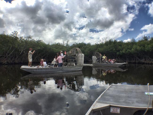 Everglades  Florida Everglades Airboat Airboat Ride