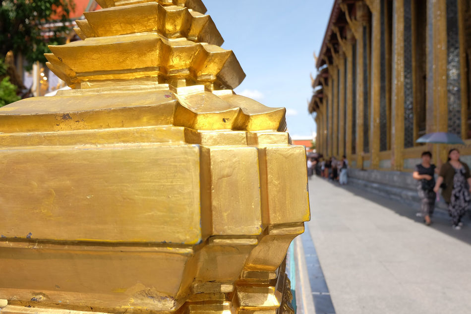 Wat Phra Kaeo temple , landmark of Thailand Ancient Architecture Art Building History Landmark Old Religion Royal Royal Palace Temple Thai Architecture Thai Art Tourism Tourists Travel Wat Phra Kaeo