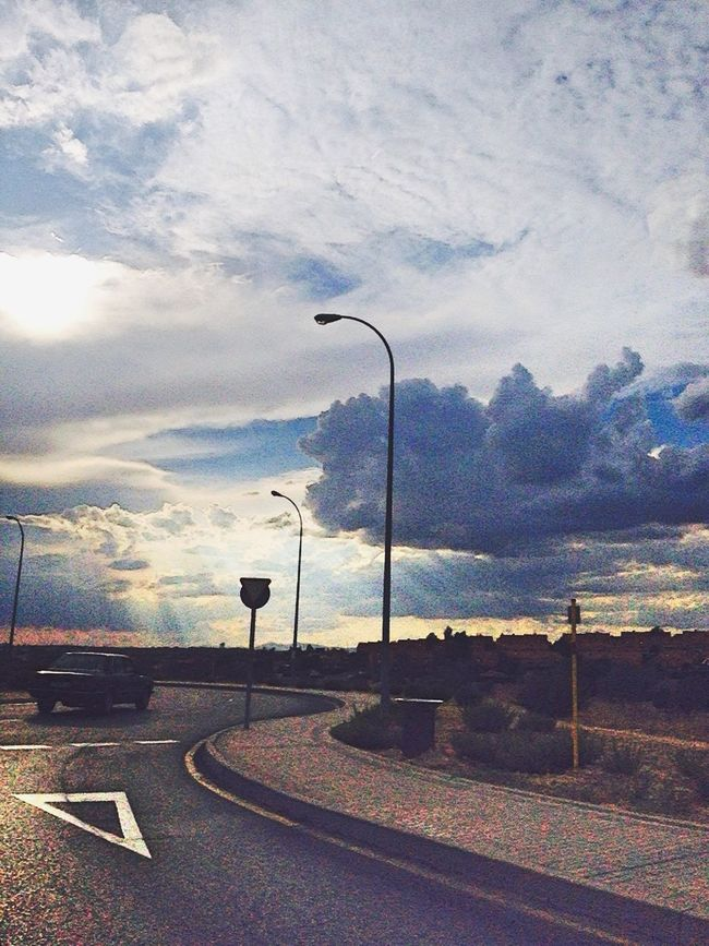 Street Photography Taking Photos Nature Sunshine Clouds And Sky Artistic Photo In Heaven