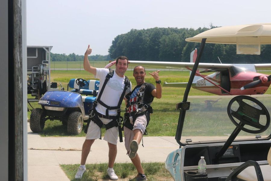 Skydiving With Friend Baltimore