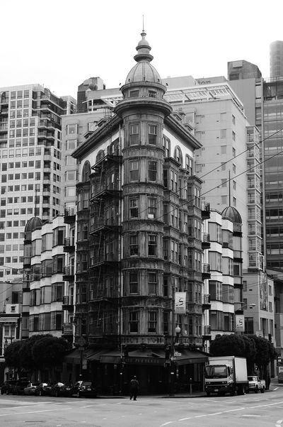 Streets of San Francisco Black And White Street Photography California Cars City City Life City Street City Street Photography San Francisco San Francisco Streets Streets Architecture Black And White Black And White Collection  Black And White Photography Building Exterior Built Structure Car City Day No People Outdoors Sky Street