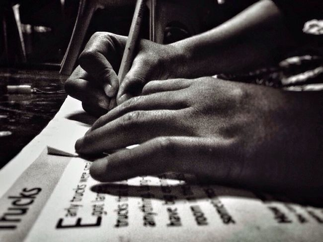 because learning starts at home Hands Hands At Work Learning Drawing Discover Talent Kids Having Fun Home Pencil Drawing Pencil And Paper Art, Drawing, Creativity Black & White Simple Moment Mobile Photography