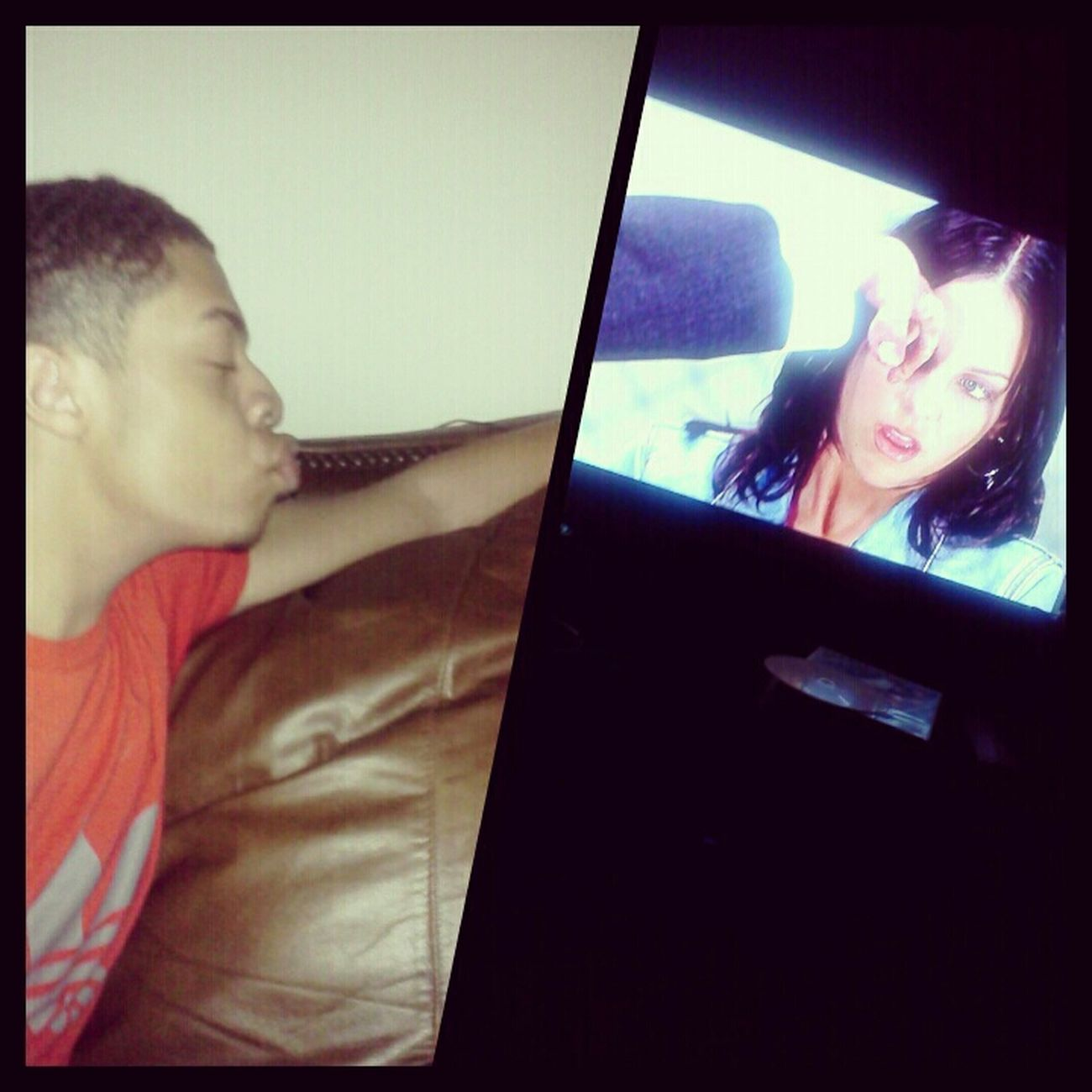 Whessssup ; anyone wanna join ?; Watching Scary Movie 2 ♥ .. HMU doee >