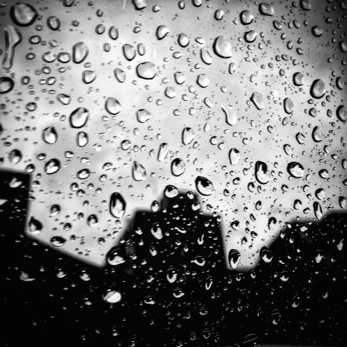 Drop Wet Water Backgrounds Full Frame Condensation No People RainDrop Textured  Liquid Pattern Close-up Indoors  Day Freshness English Summer Rainy Days Rain Follow4follow Blackandwhite Photography Depressing Day Summer In The City Eyemphotography Drink The Week On EyeEm
