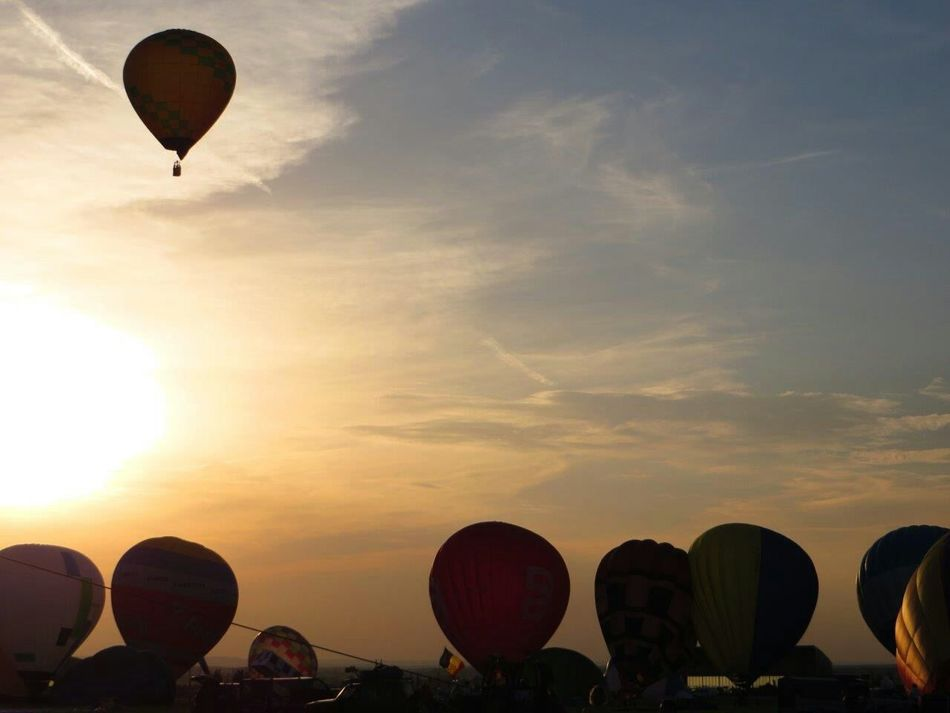 CHAMBLEY Lorraine Lorraine Mondial Air Ballons 2013 LMAB 2013 Hot Air Balloon Montgolfieres No Filter Sunset
