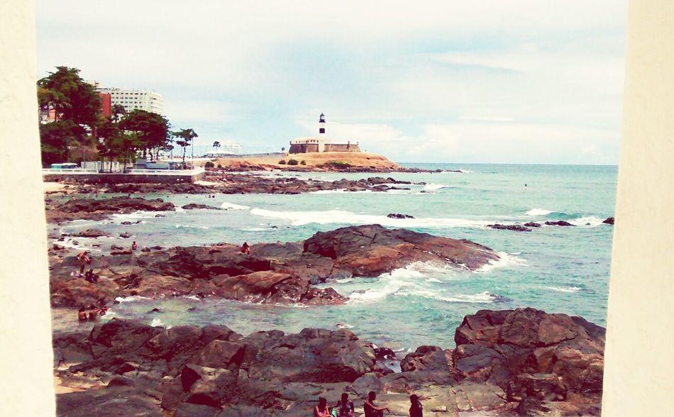 Paraíso Sea Sky Travel Destinations Cloud - Sky Water Beach Brazil Sun Farol Da Barra Salvador Bahia Beautiful Place