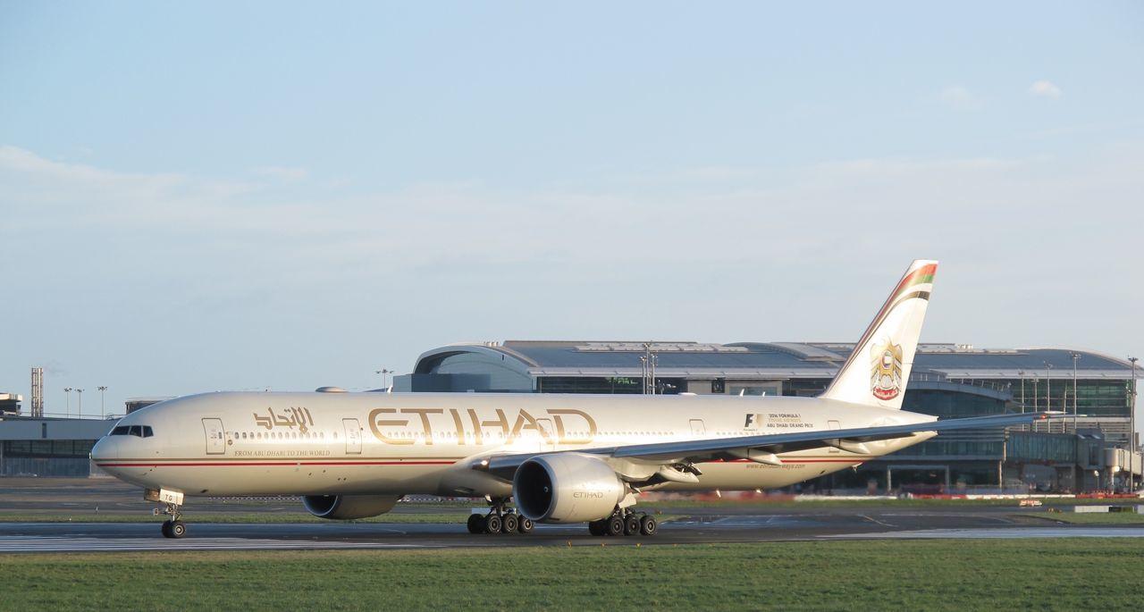 Etihad 777-300ER Etihadairways Boeing777 Aircraft Aviation