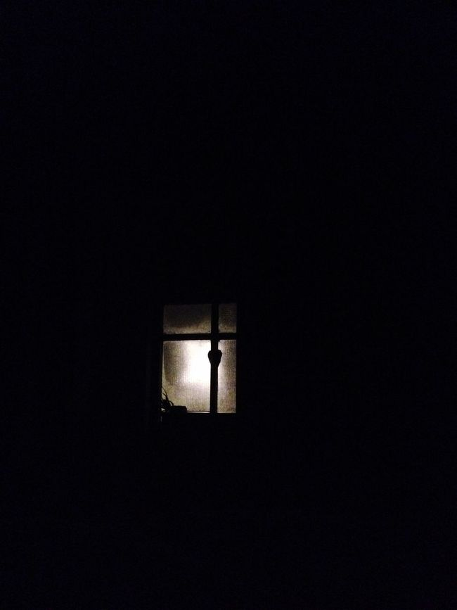From My Point Of View Night Copy Space Dark Indoors  Window No People Built Structure Illuminated Silhouette Architecture