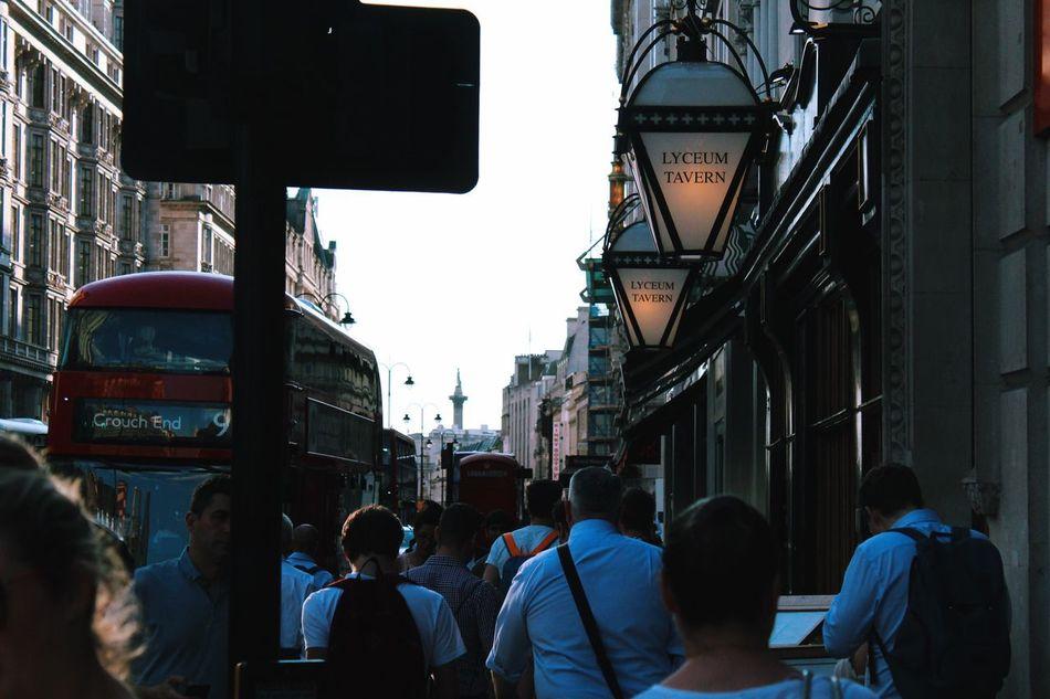 London Strand Aldwych