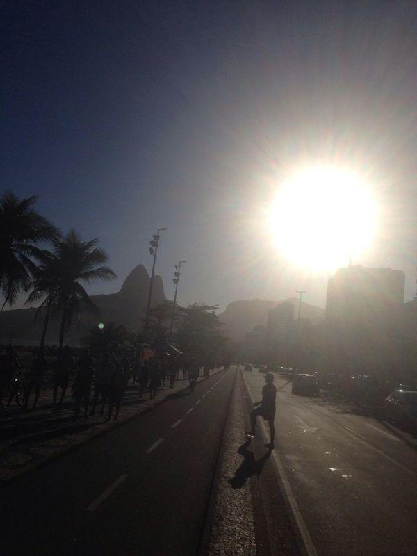 E o Rio continua lindo.