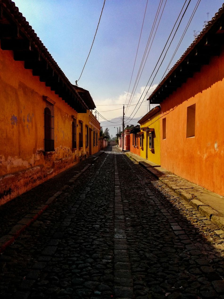 Guatemala Antigua, Guatemala Colonial Architecture Heritage Site Travel Outdoors Architecture Building Exterior No People Roadsidephotography The Secret Spaces Colonial Style