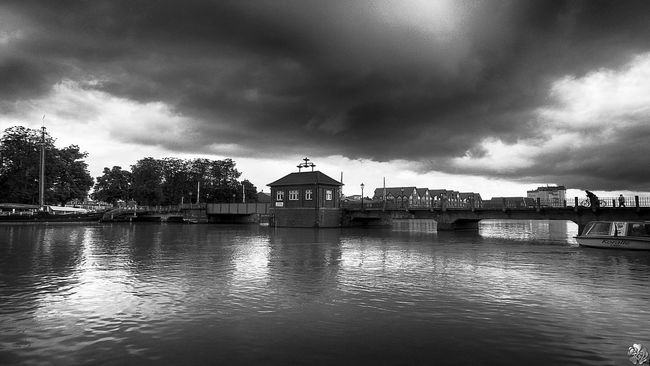 Blackandwhite Bw_collection Cityscapes Monochrome On The Way Travel Destinations Ostfriesland Leer (Ostfriesland)