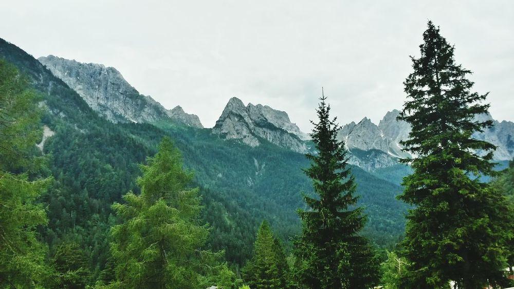 Summer Holidays Beautiful Nature Mountains