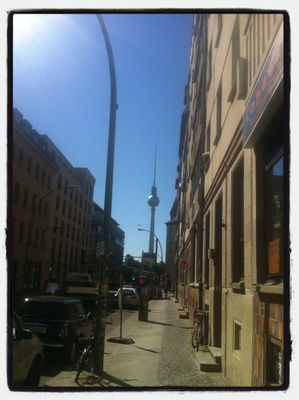 Cities look better in the sunshine in Berlin by Alice Regester