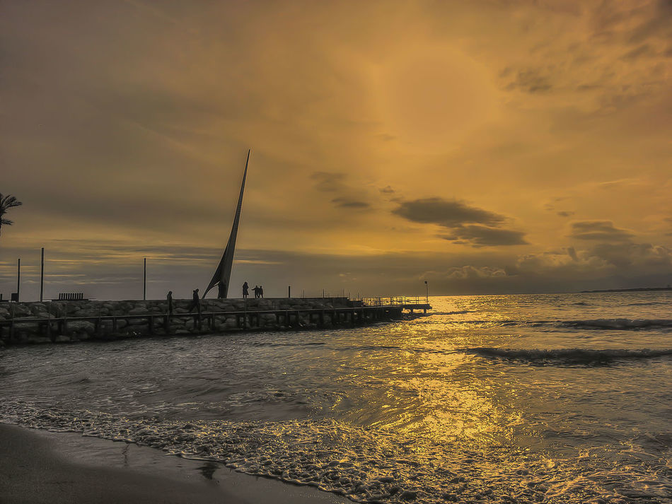 Atardecer. Salou Sunset Hdr_gallery Movilgrafias Sunset_collection Sun_collection Beah