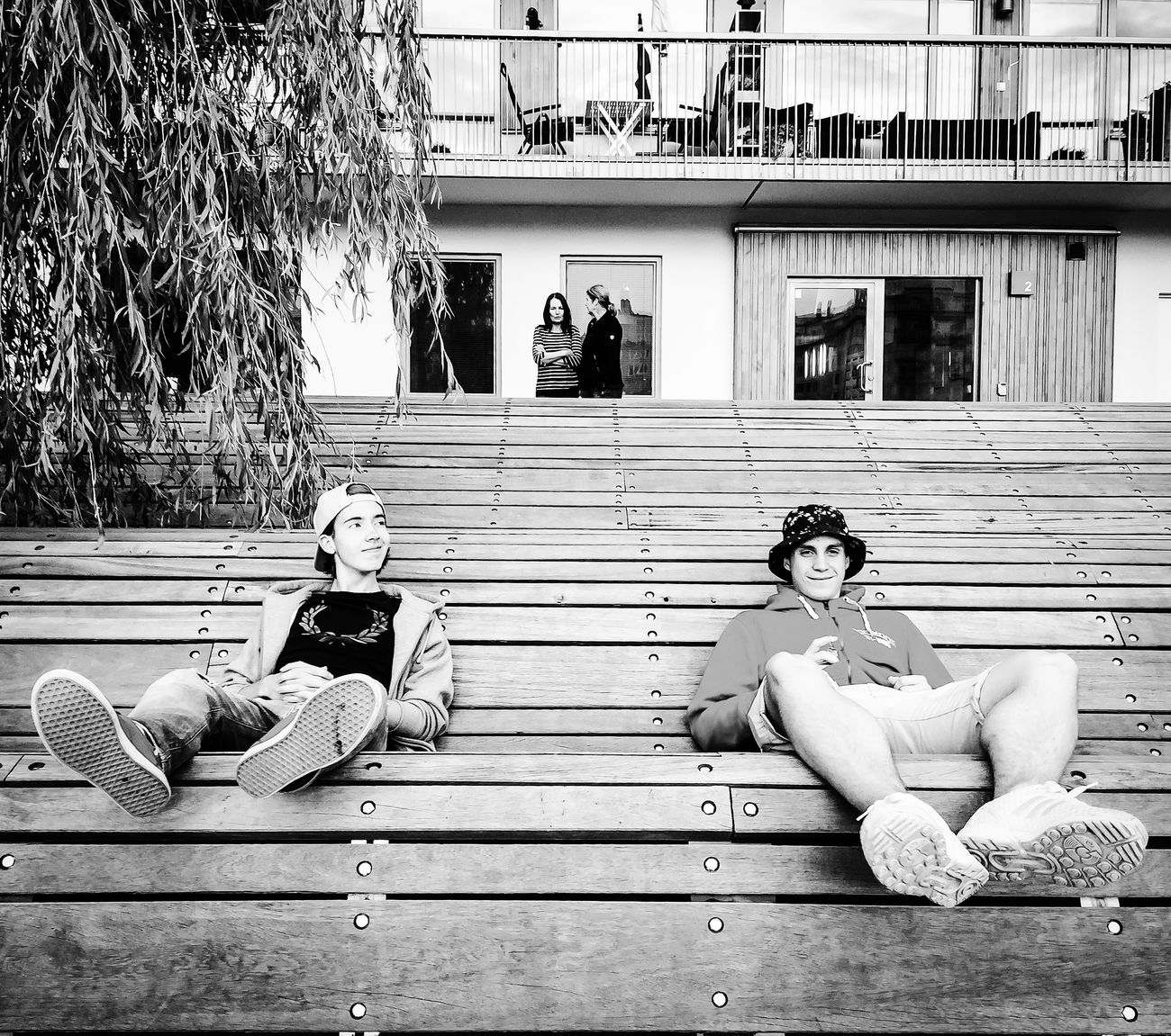 Summer feeling Enjoying The Sun Relaxing Enjoying Life OpenEdit Streetphotography Blackandwhite