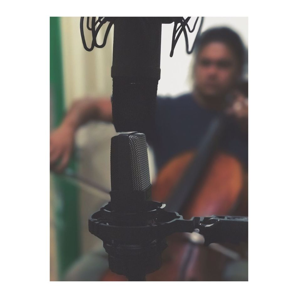 Todays recording session. Cello and guitar. Recording Recording Studio AKG Cello Music Duet Guitar Rode Mic Having Fun Lovewhatyoudo