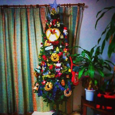 …What r u asking Santa for Christmas?? Christmastree Santa Decorated BIG Illuminationsmyhomew/mysis