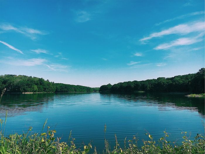 Coralville Lake Nature Sky Lake Water Outdoors Scenics Blue Tranquility