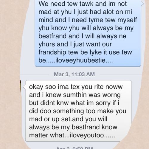 Little Things Like This I Miss From My Bestfriend Malik