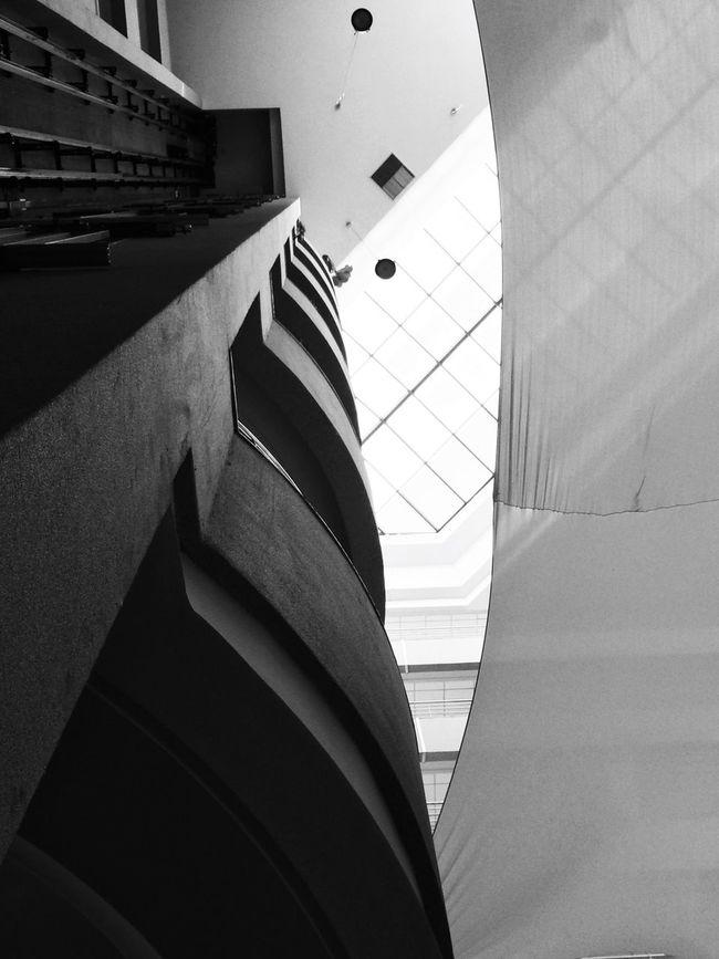 Monochrome Blackandwhite Perspectives Architecture