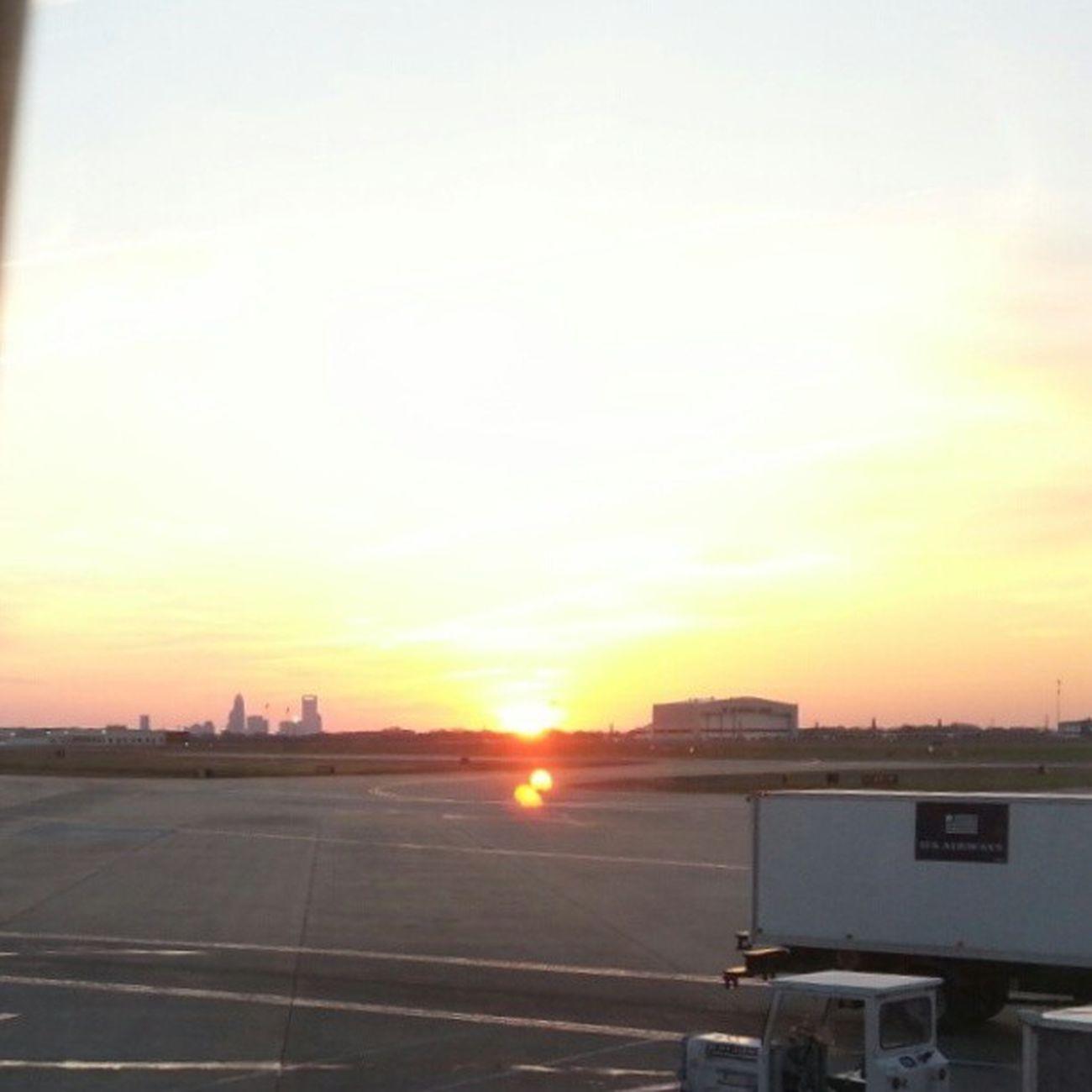 CLT sunrise