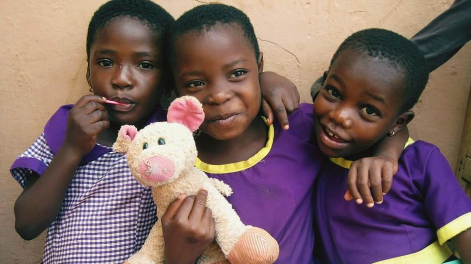 Portrait Of Innocence My Girls Ghana
