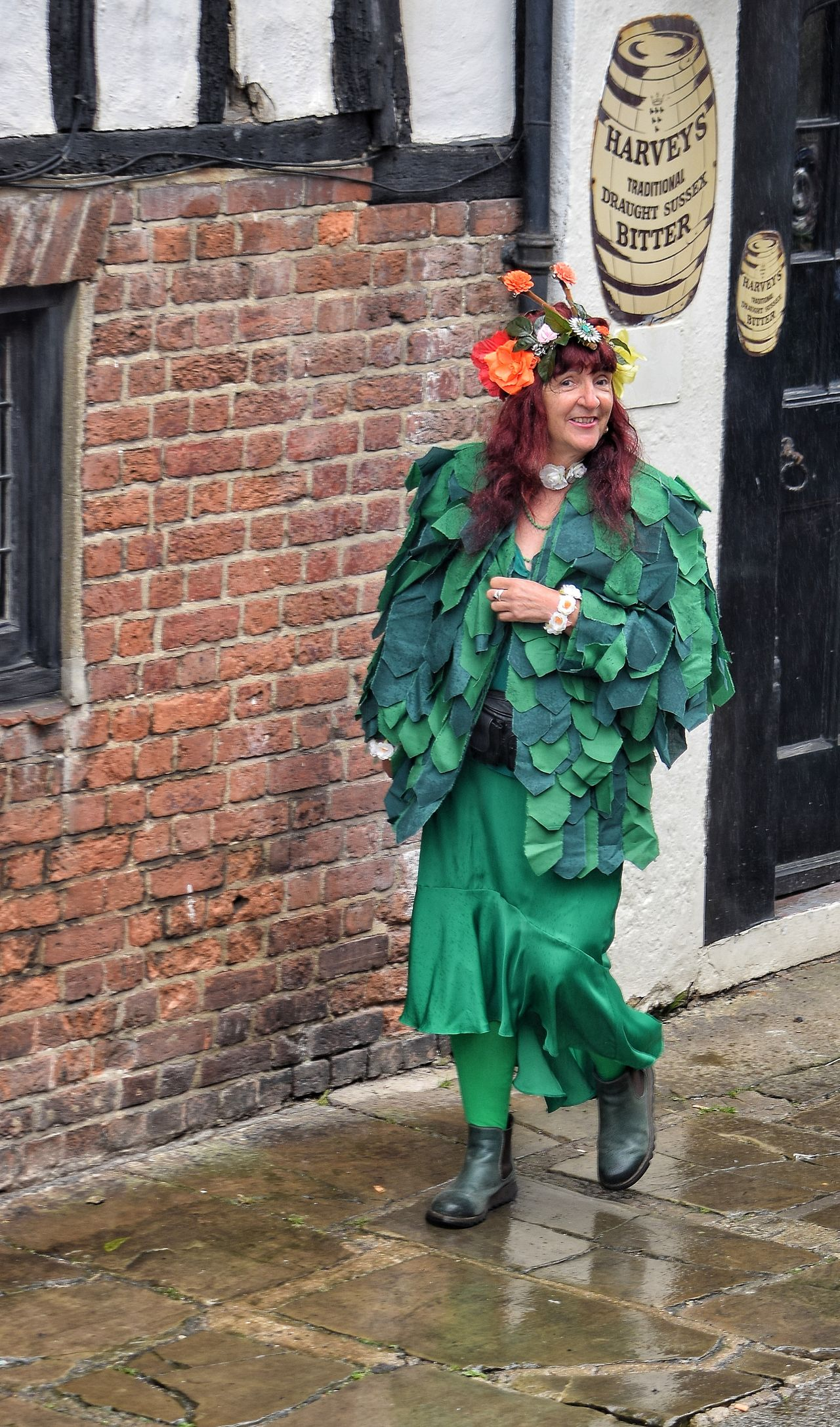 Jack In The Green Festival Jack In The Green May Day 2017 Hastings May Day East Sussex Green Celebration Outdoors Standing Green Color One Person Day Adult People Portrait Focus On Foreground Headdress Adult Carnival - Celebration Event Live For The Story Only Women Fashion One Woman Only Tradition