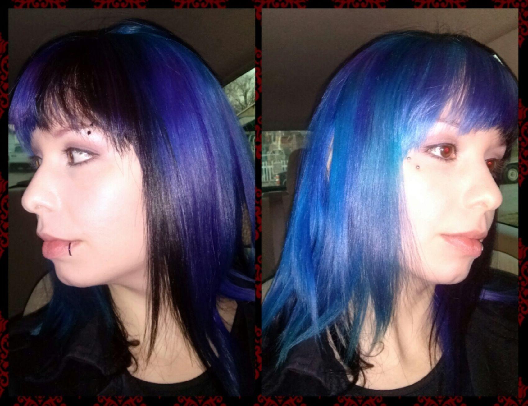 new dye Blue Hair