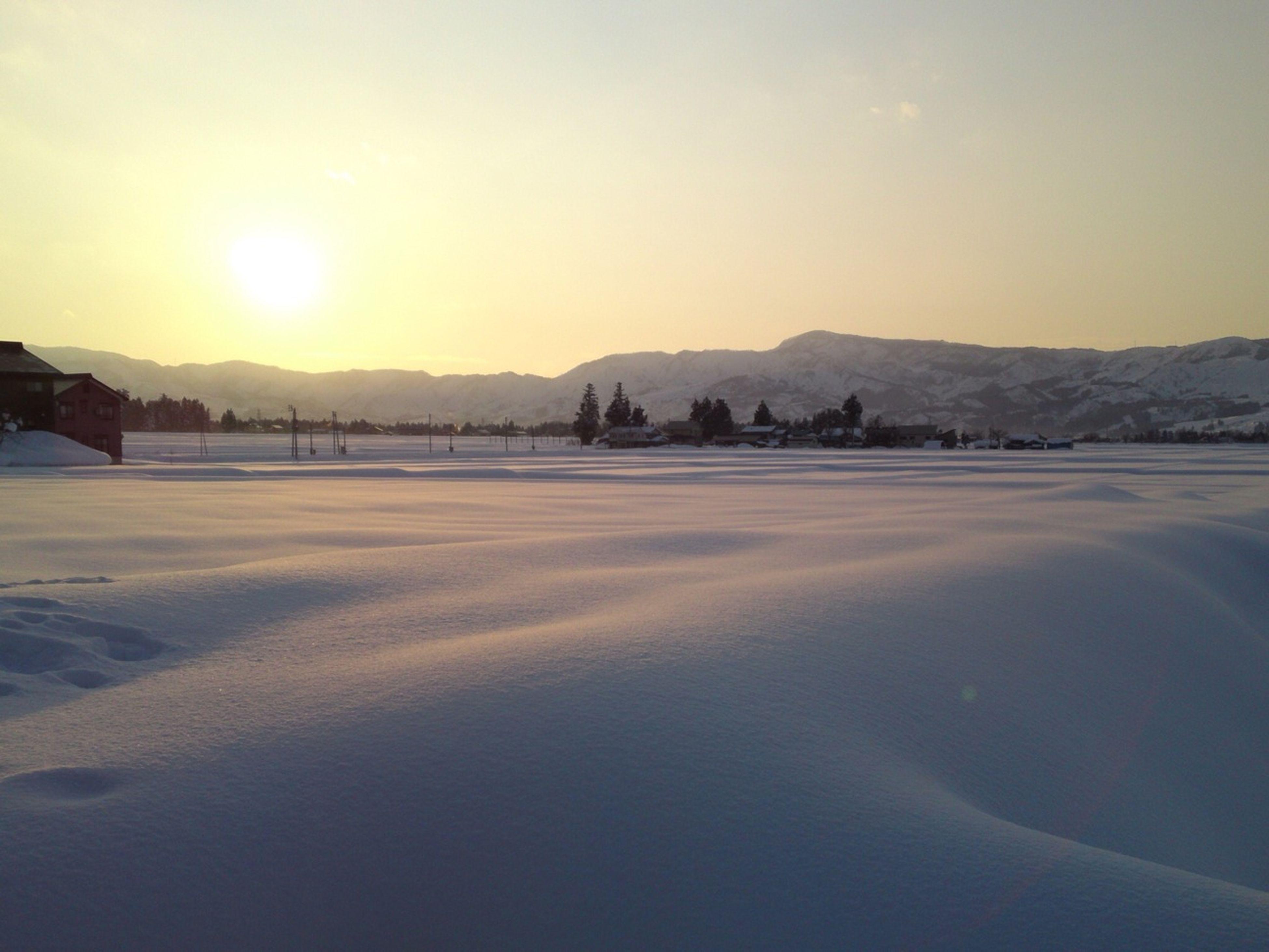 Snow Japan Countryside Nagano