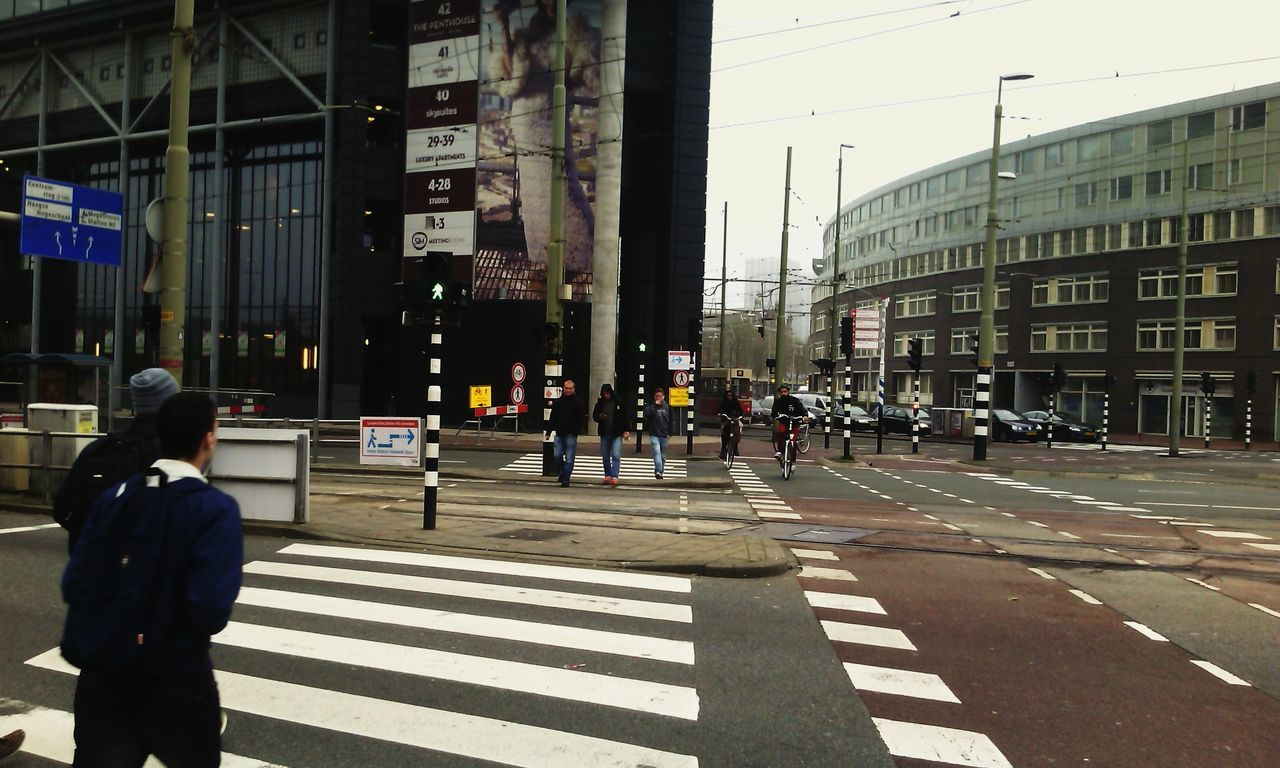 Zebra Crossing Crossroads City Life Streetphoto_bw Walk This Way