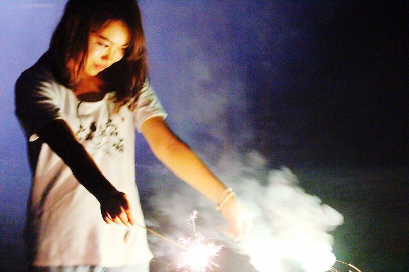 Fireworks Me Camping Nagatoro Night