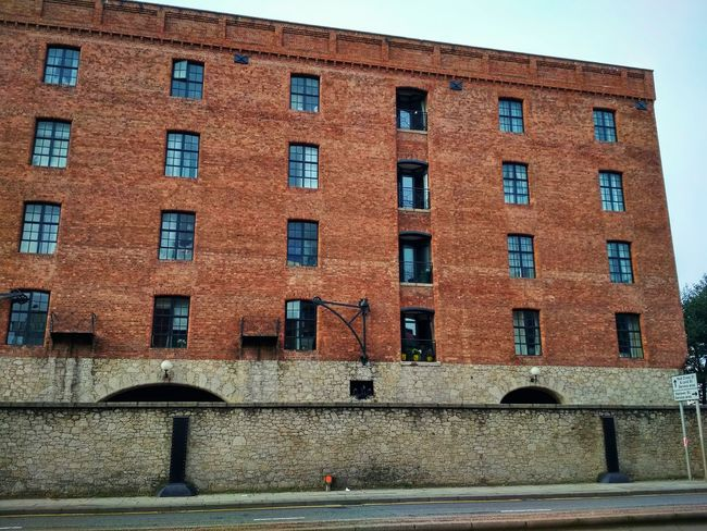 Architecture Window Building Exterior Built Structure Low Angle View Day Outdoors No People Sky Albert Dock Albert Docks