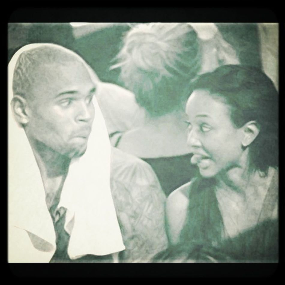Love Them Together #TeamKarrueche Shes Gorgeous Nd Hes Hott!!❤