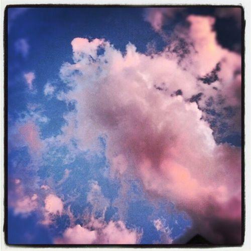 La quiete dopo la tempesta... #clouds #pink #sunset #sky Clouds Sunset Sky Pink