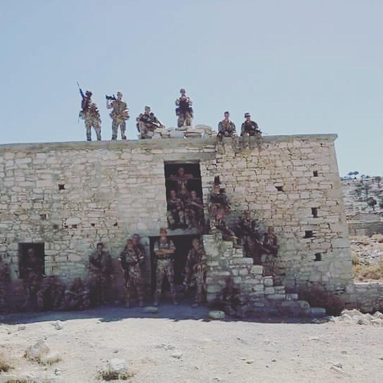 GoodTimes Goodolddays Building Exterior History Clear Sky Outdoors Playground Army Hooah!!! ArmyDays Army Life Abandoned TheLads EyeEmNewHere