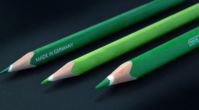 Green - Made in Germany Arrangement Close-up Colorful Composition Drawing Equipment EyeEm Best Shots Green Green Color Green Green Green!  Hope Ideas Minimalism No People Office Office Supplies Pencil Pencils Smart Simplicity Still Life Symbol