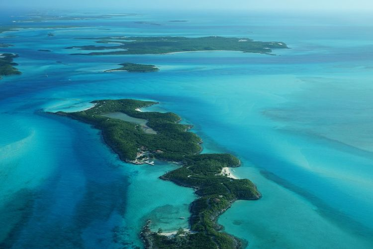 The northern Exuma Cays-Little Halls Pond Cay Outdoors Exuma Travel Photography Aerial View Sea And Sky Beauty In Nature Aerial Shot Ocean Beach Sea Little Halls Pond Cay Nature Luxury