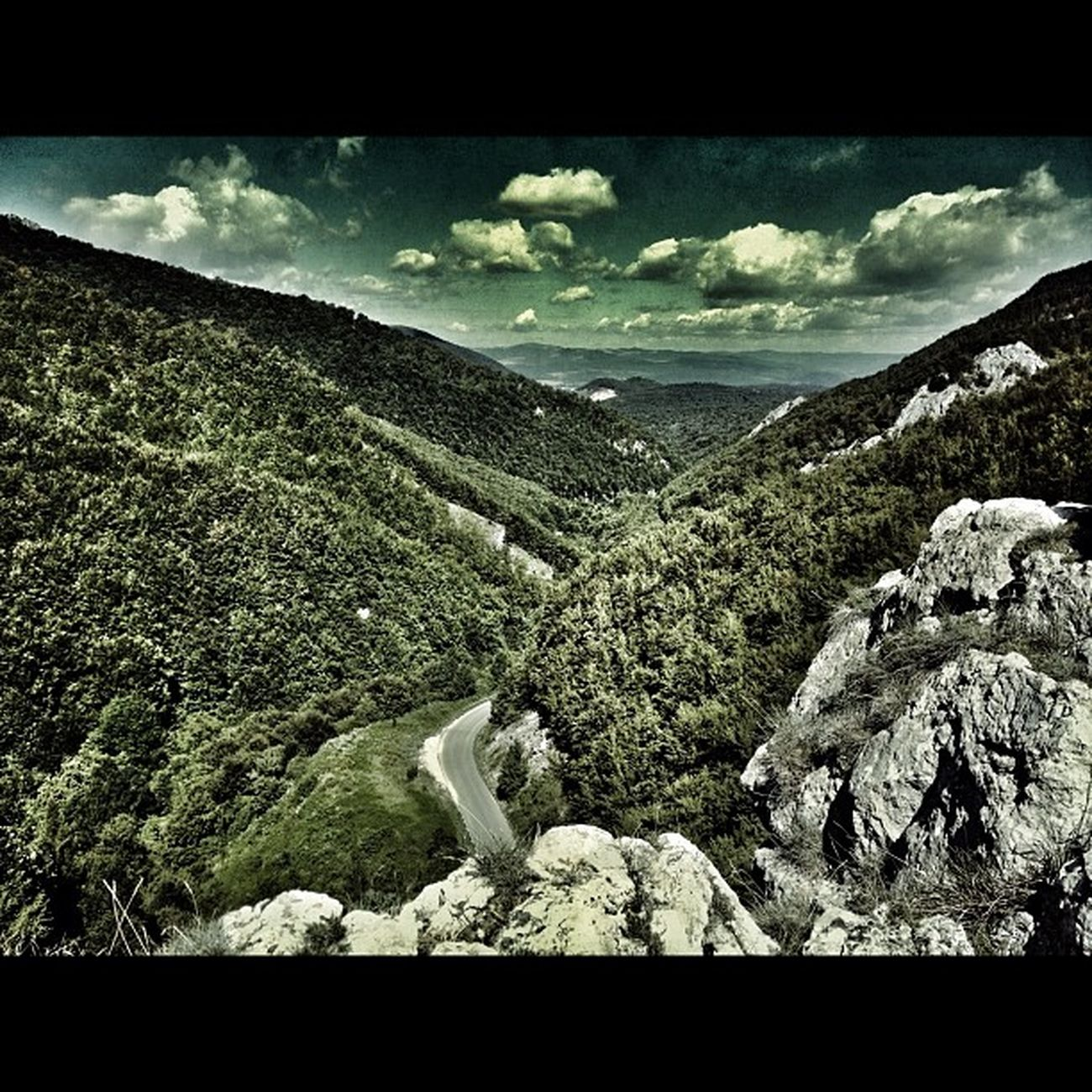 Slovakia Mojtin Summer Holiday forestinstagram instadaily snapseed mountainroad