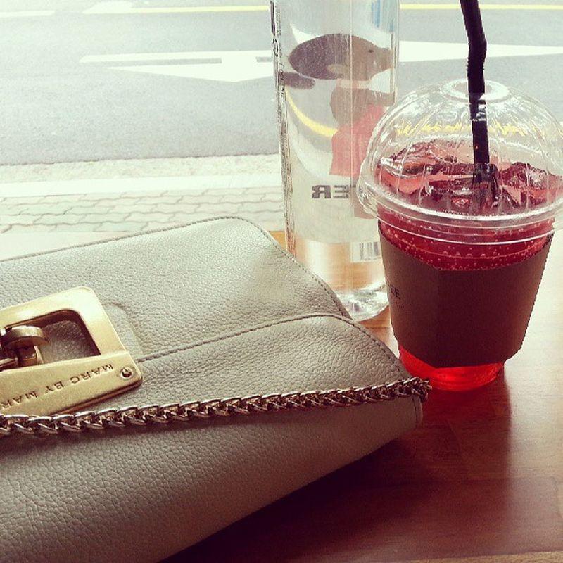 So peaceful Daegu Ade Cafe MARKbyMarkJacobs