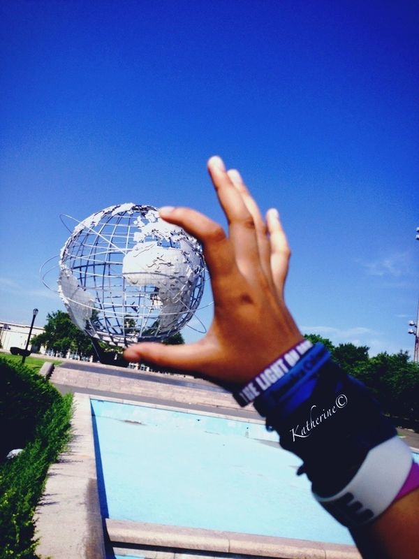 Taking over the world!! My World