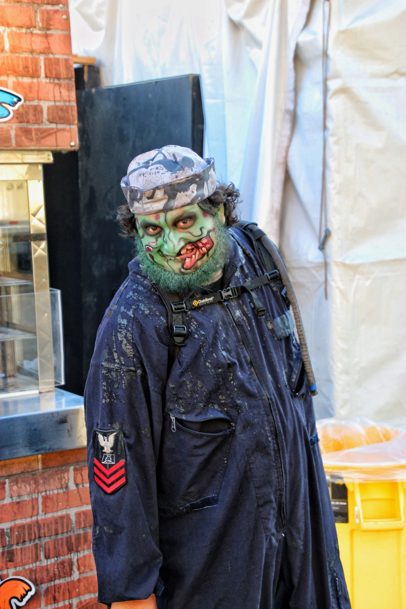 Halloween costume Halloween Horrors Halloween Costumes Halloween2016 Halloween EyeEm Halloween_Collection Zombiewalk  Zombie Makeup Zombieapocalypse ZombieArt Zombie Boy
